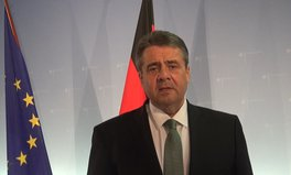 Article: Videobotschaft von Außenminister Sigmar Gabriel an alle Global Citizens