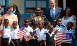 Article: President George W. Bush: Foreign Aid Is Crucial to US Security & Morality