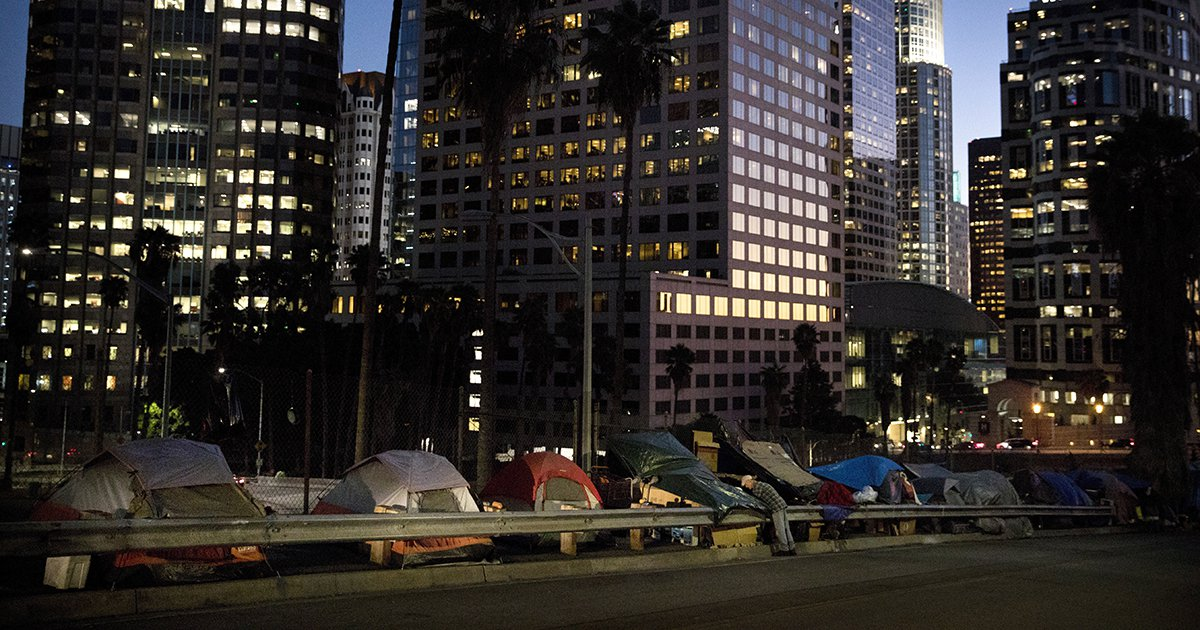 California Will Use State Buildings as Homeless Shelters