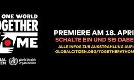 Artikel: Pressemitteilung zu One World: Together At Home