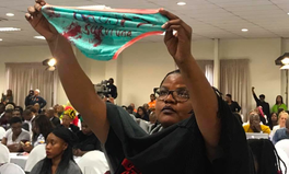Article: Women Just Silently Stood in Protest During President's Speech at South Africa's First Gender Violence Summit