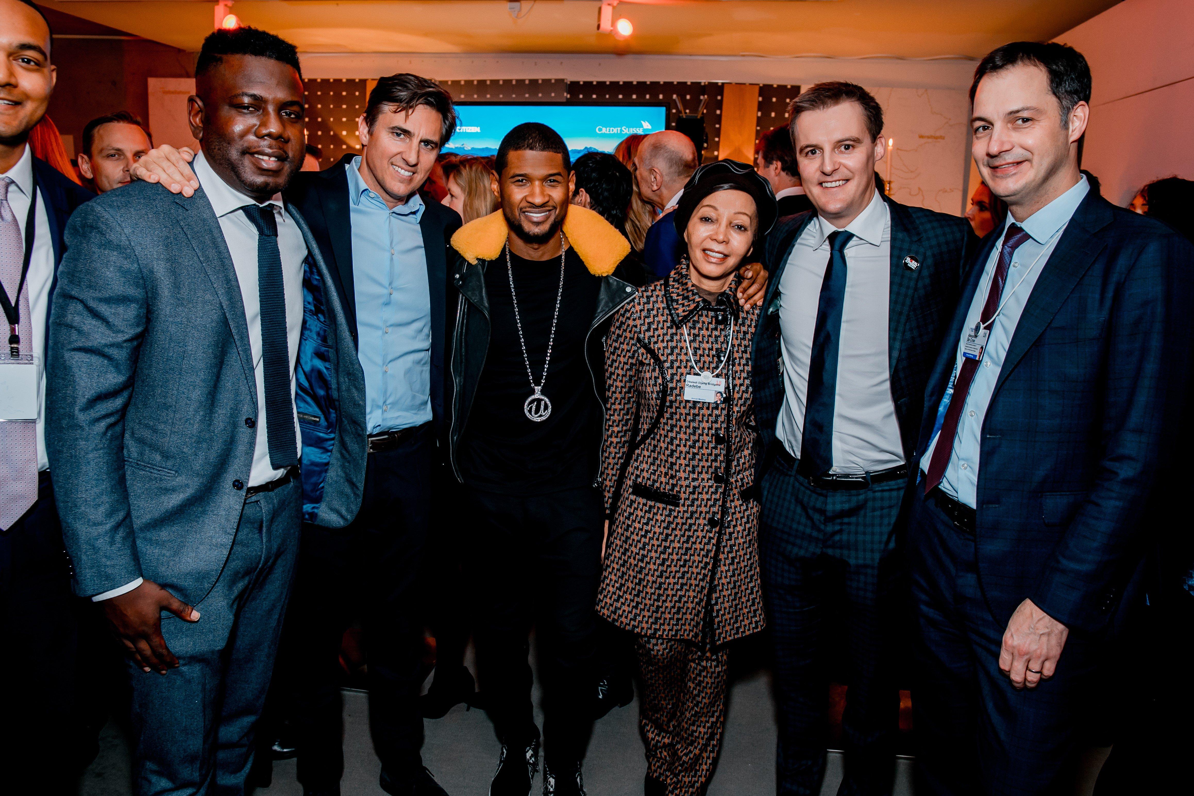 Global Citizen - Usher, Kweku Mandela, Hugh Evans, more - Davos 2018.jpg
