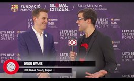 Video: Global Questions: Hugh Evans shares his excitement for the FC Barcelona partnership