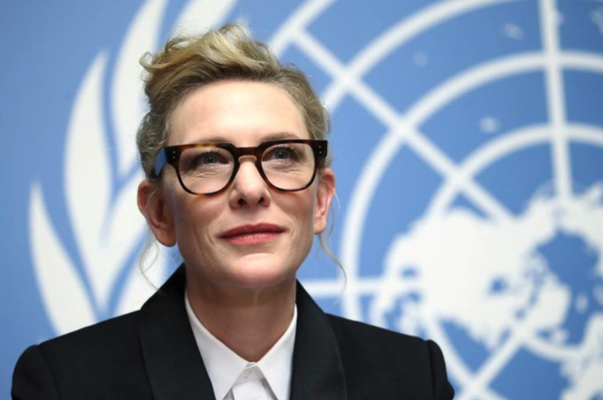 Cate Blanchett Calls on World Leaders to End Statelessness in Powerful Speech