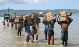 Article: At Least 20 Killed in Capsized Boat as Ethnic Violence in Myanmar Gets Worse