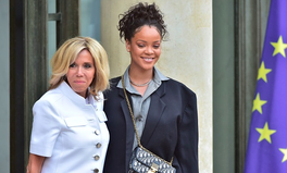 Artikel: Rihanna Meets With President & First Lady Macron to Support Global Partnership for Education