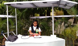 Artículo: Indian Teen Wins Children's Climate Prize for Inventing Solar-Powered Iron