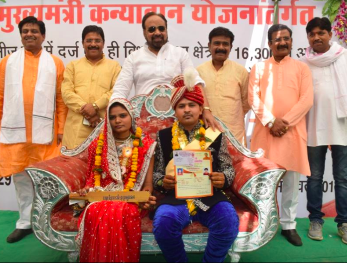 Indian Brides Get Special Wedding Day Gifts From Politician Bats