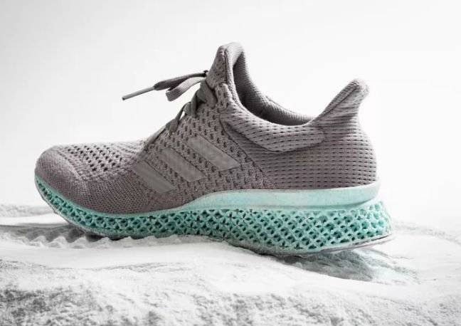 Adidas Teases First Ever Sneaker Made From Ocean Plastic