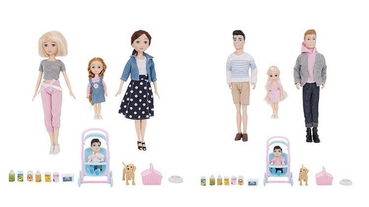 Kmart Australia Launches Inclusive Same-Sex Family Doll Sets