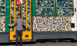 Article: A Tram Filled with 50,000 Takeaway Coffee Cups Spotted on the Streets of Melbourne