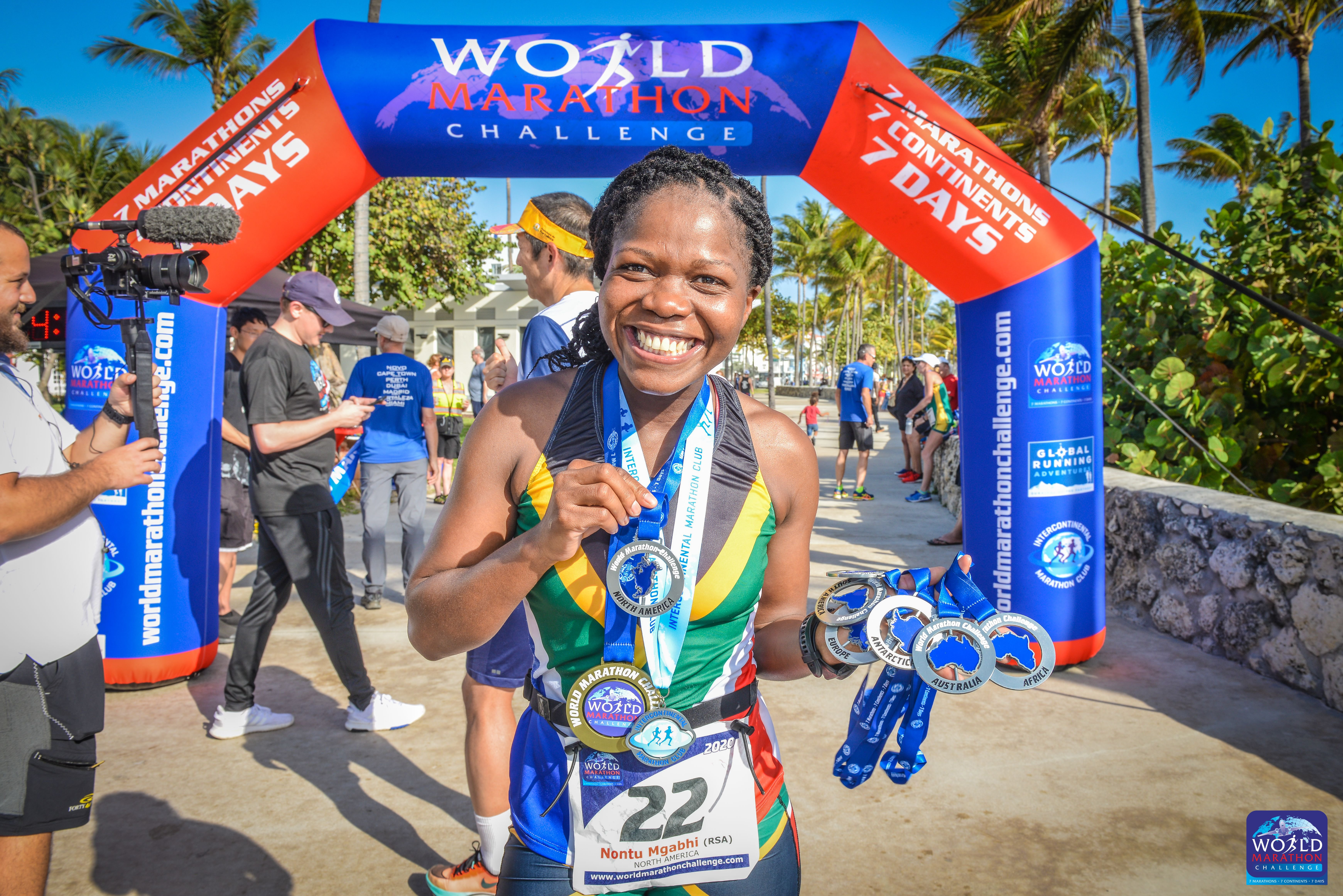 South African long distance runner raises money for schools and students in Kwa-Zulu Natal Province.