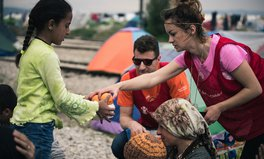 Artikel: UK Aid humanitarian response Greece refugees