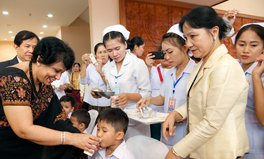 Artikel: Warum Impfungen wichtig im Kampf gegen extreme Armut sind