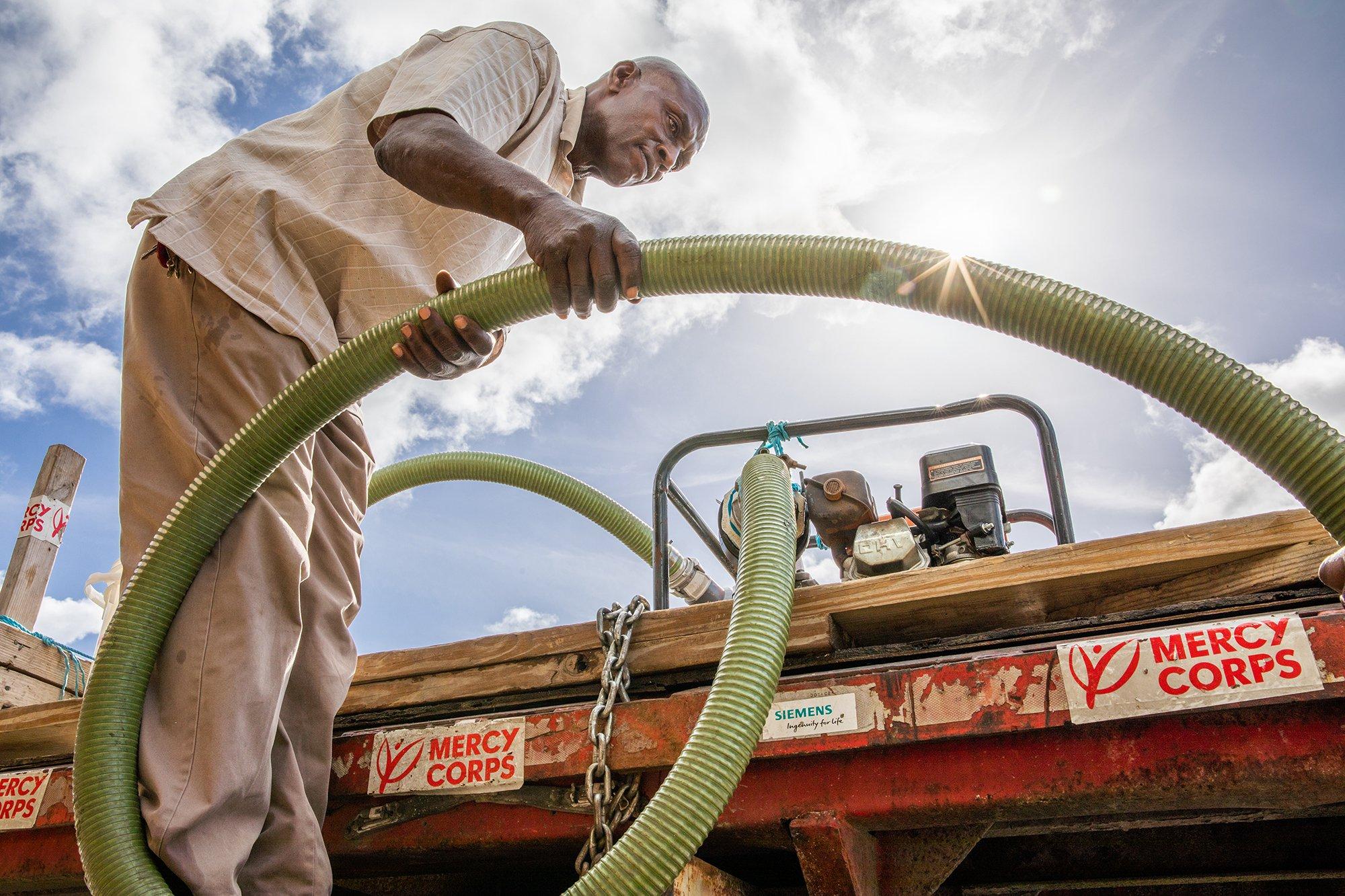 Mercy Corps Volunteer Potable Water