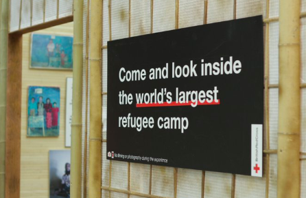 A Corner of the World's Largest Refugee Camp Pops Up in London Shopping Mall