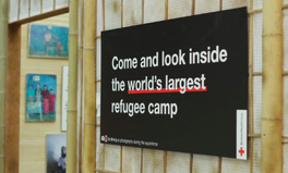Article: A Corner of the World's Largest Refugee Camp Pops Up in London Shopping Mall
