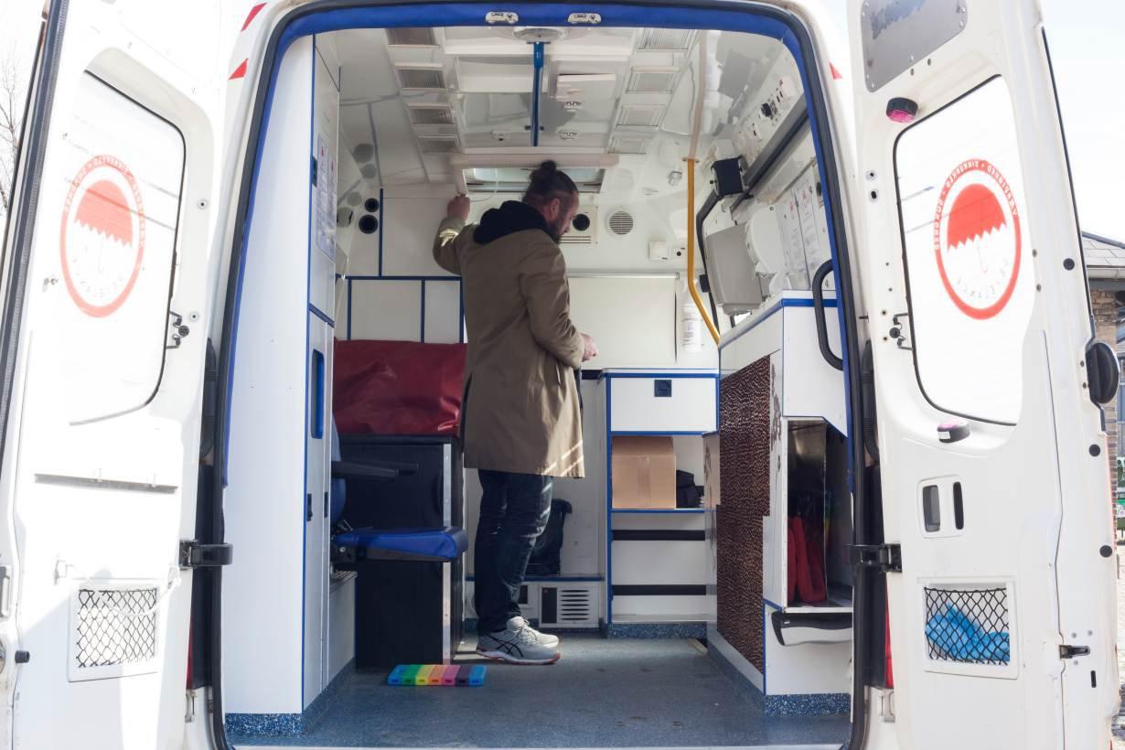 Denmark sex ambulance TRF
