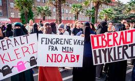 Article: Danes March Against Face-Veil Ban to Support Muslim Women's Rights