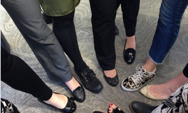 Article: Women denounce sexist dress codes through flat shoe solidarity