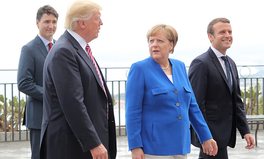 Artikel: Here's How Macron, Merkel, and Trudeau Tried to Sway Trump on Climate Change