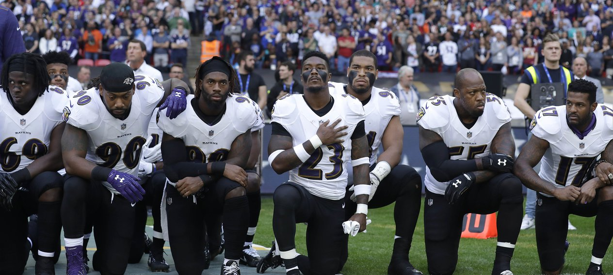 The Political History Behind the NFL's #TakeAKnee Protests
