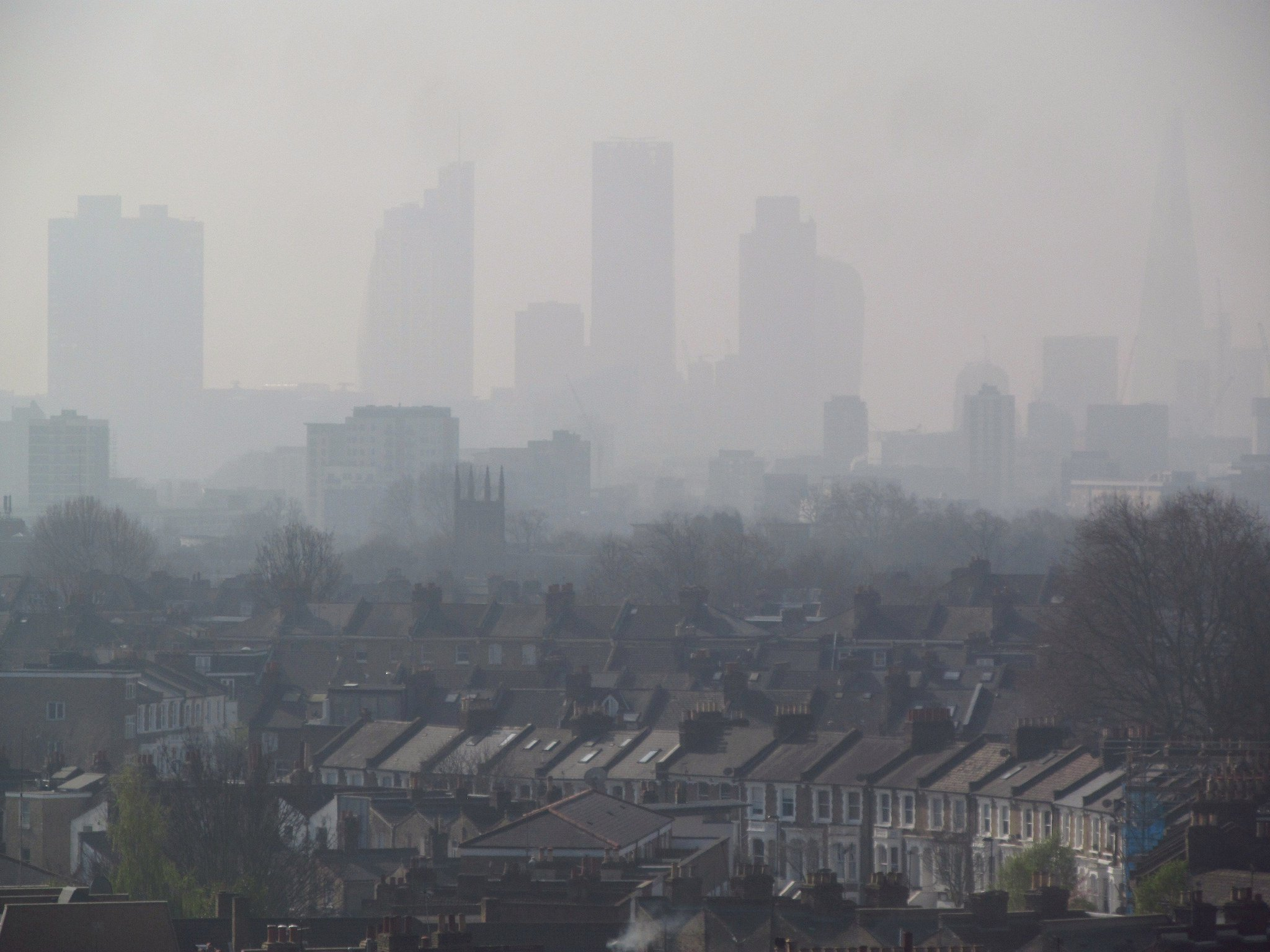 Air Pollution London NHS Cost £8,000 UK Britain Petrol Diesel Electric Global Action Plan Clean Air Day Health Tourism Premature Deaths