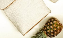 Artikel: This vegan leather is made from a truly sustainable source: pineapples