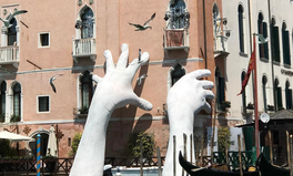Article: Why There Is a Massive Pair of Hands Rising From a Venice Canal