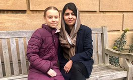 Article: Malala and Greta Thunberg Met in Oxford and Took the Greatest Photo in History