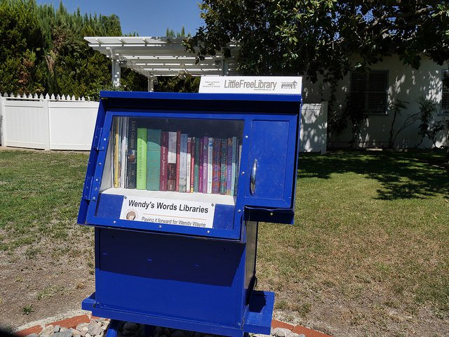 Little Free Library - Blue