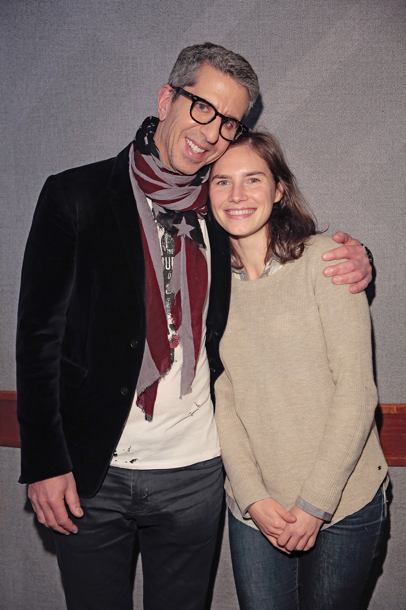 Flom with Amanda Knox.jpg