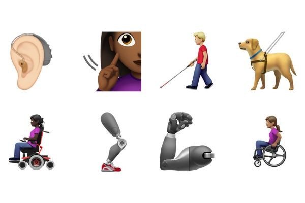 Apple's New Emojis Celebrate Diversity, Increase Representation for Disability Community
