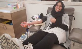 Article: Syrian Refugees Show Gratitude to Canada by Donating Blood