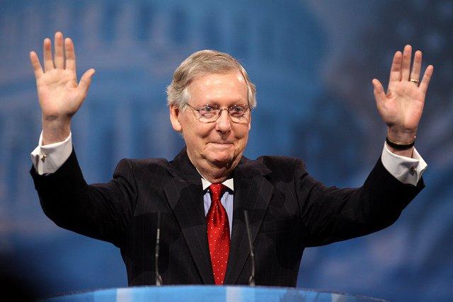 Mitch McConnell US Senate Majority Leader