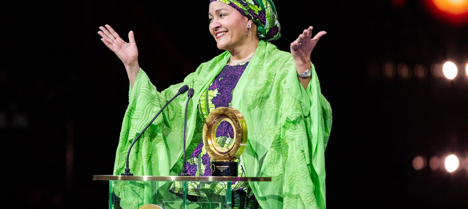 Amina Mohammed Just Won the Global Citizen Prize World Leader Award 2019