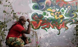 Article: Breaking down walls by painting them: Senegal's first lady of graffiti, Dieynaba Sidibe