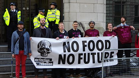 Extinction Rebellion Are Still Putting Politicians Under Pressure With Global Hunger Strikes