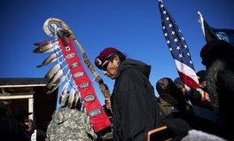 Article: After Months of Standing Rock Protests, New Route Considered for Dakota Access Pipeline