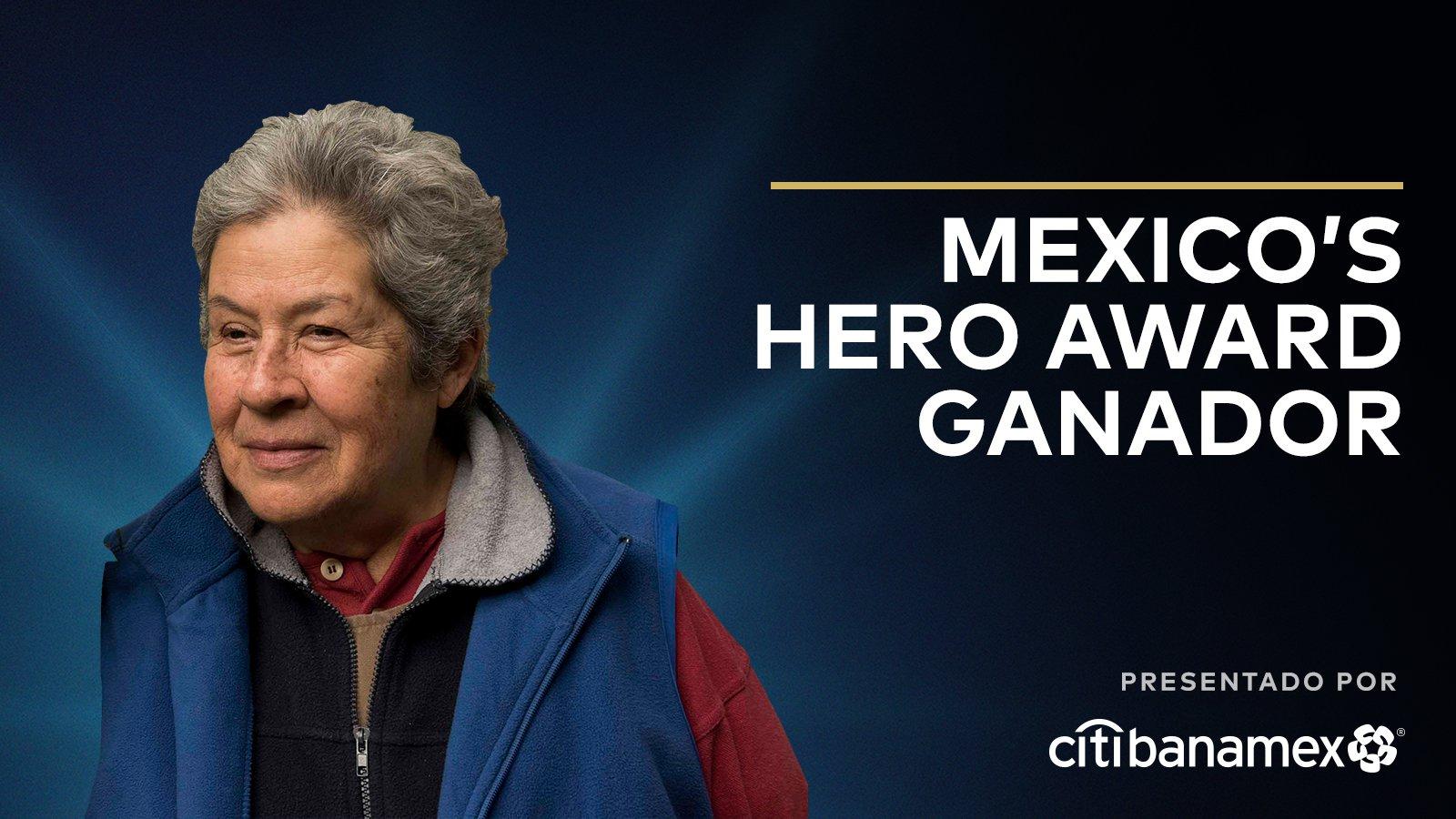 Mexico' Hero Award