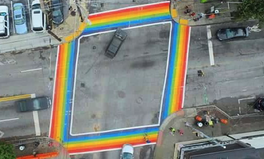Article: Atlanta's Rainbow Crosswalk to Honor Orlando LGBT Victims Permanently
