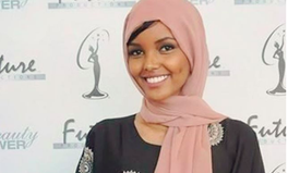 Article: Hijab-Wearing Somali-American Model Makes History at Minnesota's Miss USA