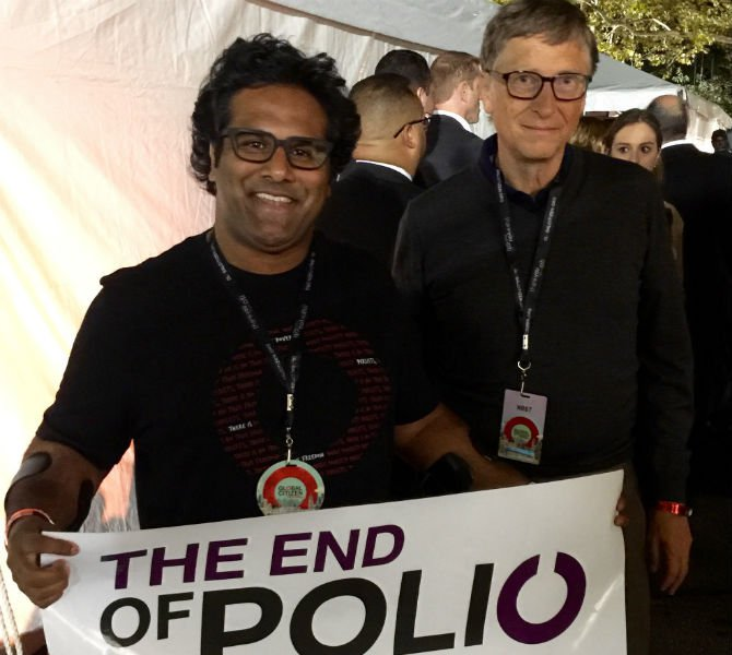 Ramesh Ferris and Bill Gates
