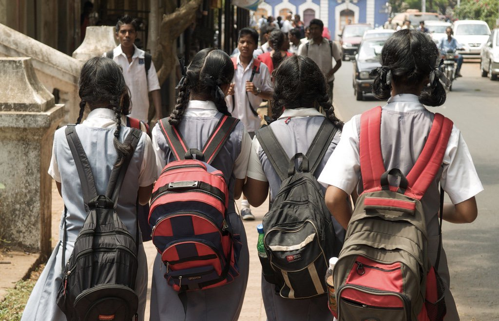 india school girls