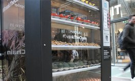 Article: A Human Vending Machine in London Dispenses 'Slave-Made' Food