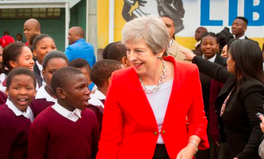 Article: Theresa May Is on Her First Visit to Africa as Prime Minister. This Is What She's Focusing on.