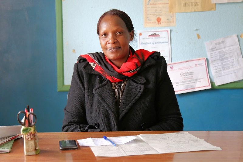 Jane Waweru, Head Teacher Mutuini Primary School, Nairobi mid shot - Farm Africa.jpg
