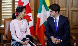 Article: Justin Trudeau Tells Myanmar Leader to 'Do Whatever Is In Your Power to Stop' Rohingya Violence