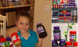 Article: This 1st Grader Is Collecting PB&J Jars to Make Sure Her Classmates Have Enough to Eat