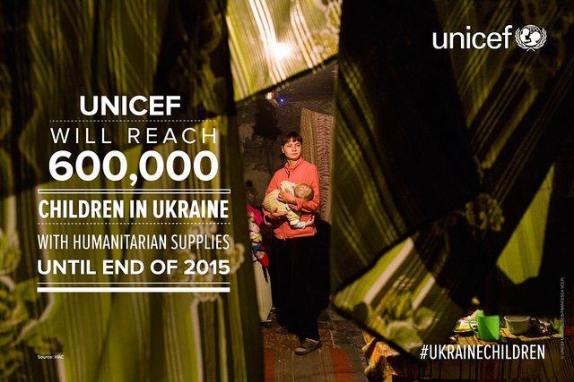 UNICEF meme for Ukraine